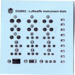 Luftwaffe Instruments Decals