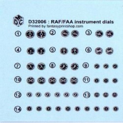 RAF Instruments Decals