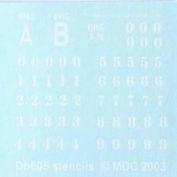 db605 stencils