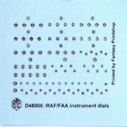 RAF/FAA Instrument Decals
